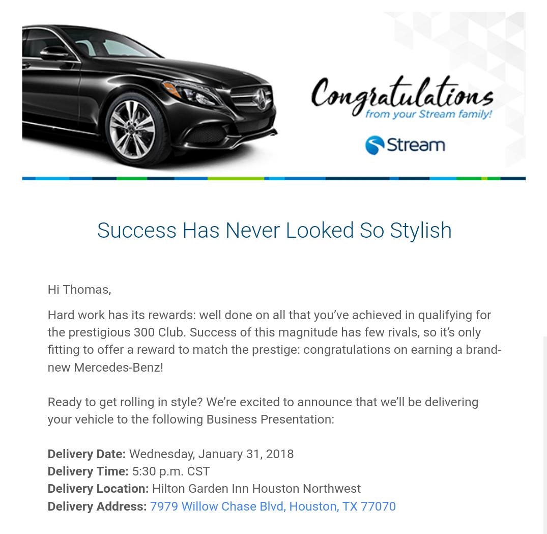 Stream Mercedes Benz - Letter